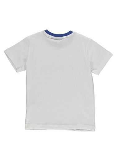 Hummel Unisex Çocuk Browst Tişört 910934-9003 Beyaz